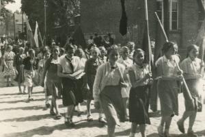 Pochód 1 Maja 1951