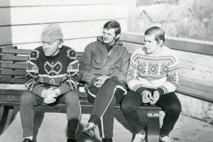 W Karpaczu 1970 r.